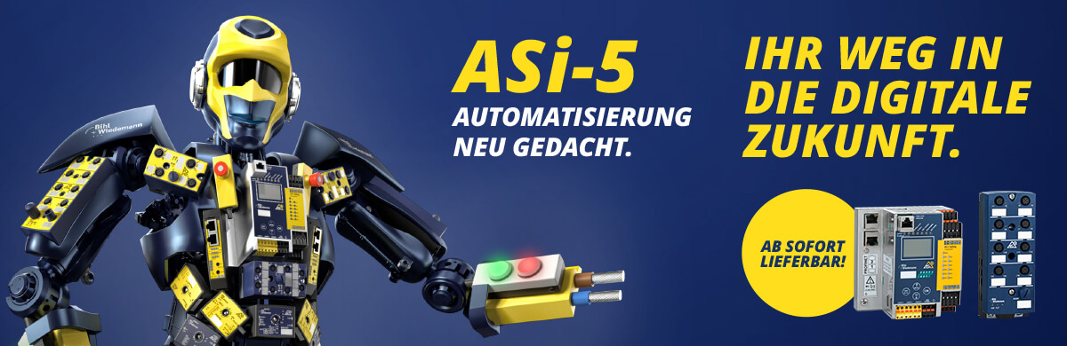 [Translate to Spanien:] ASi-5 Automatisierung neu gedacht